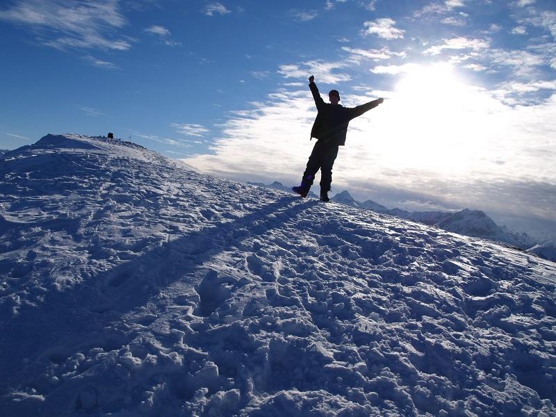 На върха